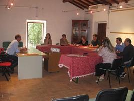 martino e gli studenti durante il master