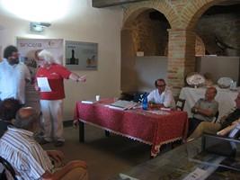 patrizio, martino e gli altri partecipanti all'evento