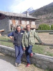 Martino con Elio Quendoz