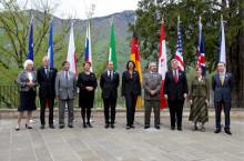 gli otto ministri dell'agricoltura riuniti al G8
