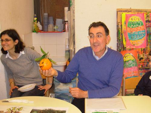 dimostrazione bacchi arancia