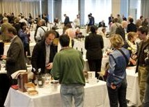 pubblico all'evento gusto in scena