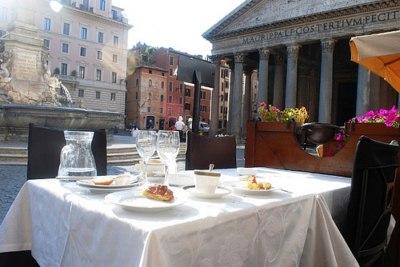 colazione al Pantheon