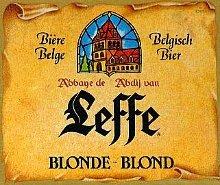 il logo della leffe blonde