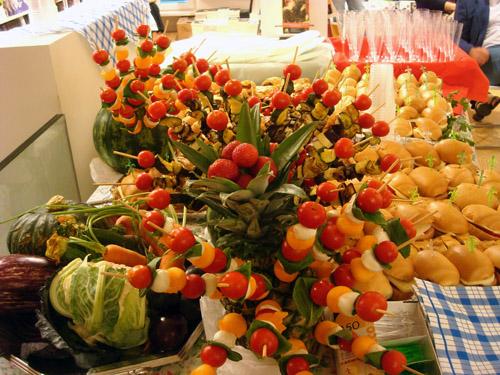 buffet offerto da Cir-Food