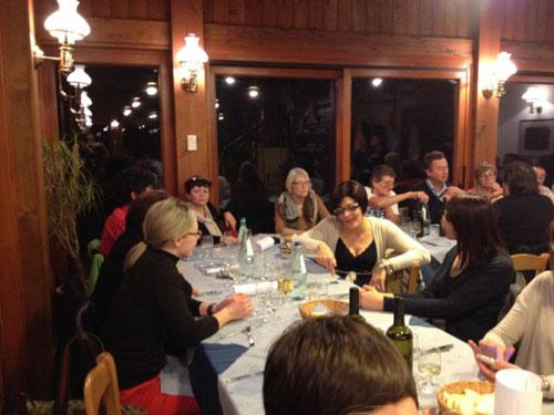 la sala della cena