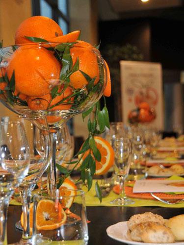 composizione di arance