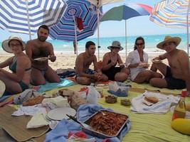 pic nic sulla spiaggia