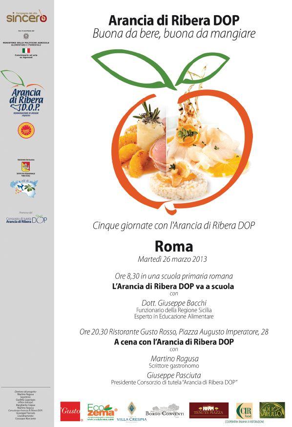 locandina dell'evento a roma