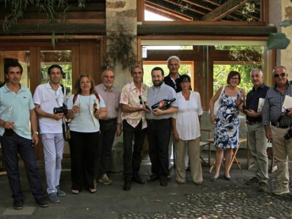 foto di gruppo dei presidenti delle compagnie comunali