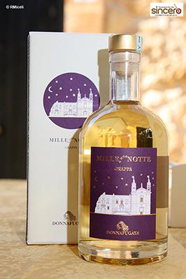 bottiglia di grappa Mille e una Notte
