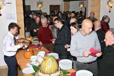 i partecipanti alla degustazione
