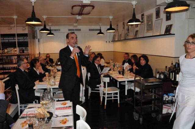 martino ragusa al ristorante