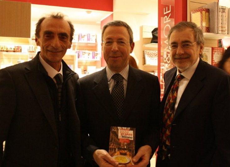Martino con Sinigaglia e Gallini