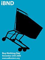 Il logo dell'iniziativa giornata del non acquisto