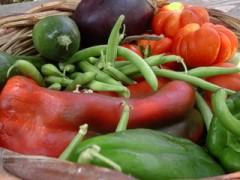 cesto di verdure