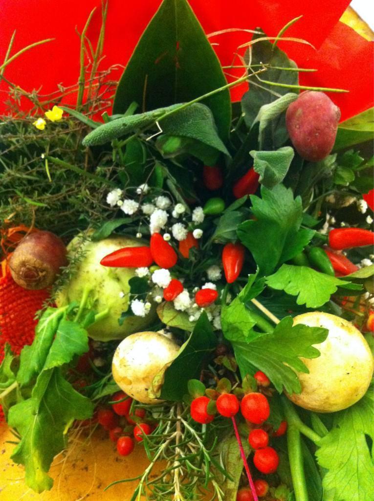 un bouquet di verdure