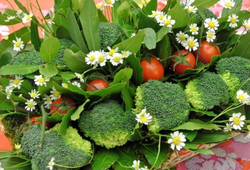 fiori o broccoli? una cassetta ornamentale
