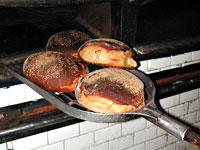 pane di castelvetrano in forno
