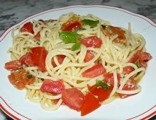 spaghetti pomodori
