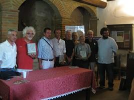 Patrizio, Martino e gli altri partecipanti all'inaugurazione