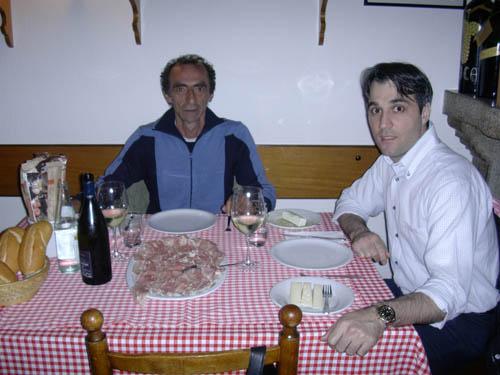 martino a tavola con bartoluzzi