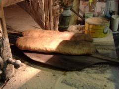 Filoni di pane di Genzano infornati