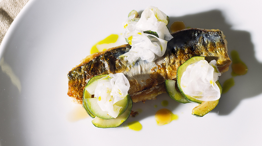 filetti-di-branzino-con-cetrioli-e-yogurt