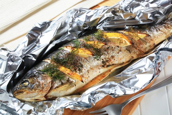 pesce al cartoccio