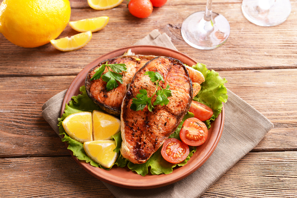 trancio di pesce al forno