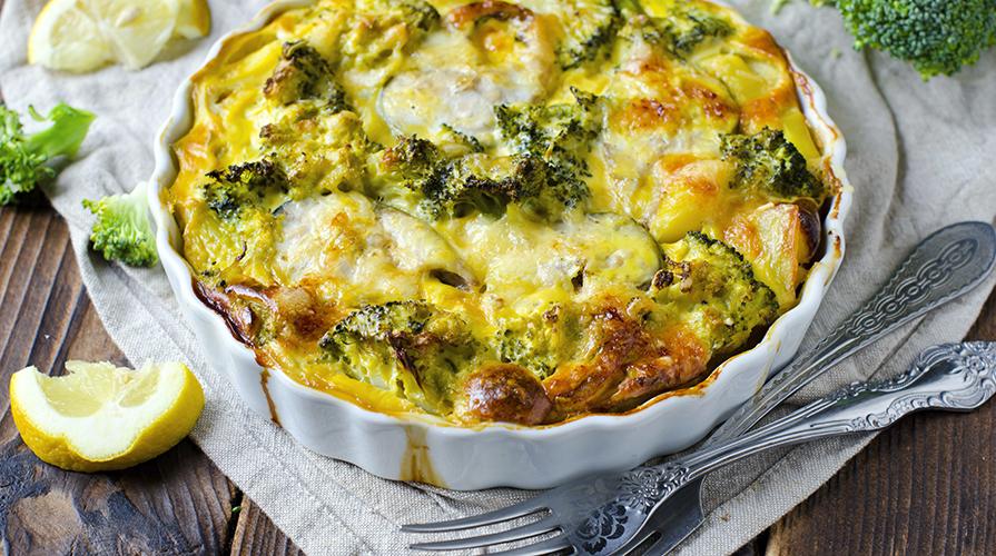 Ricetta sformatino di broccoli e arzilla giornale del cibo for Cibo tipico romano