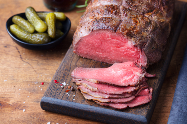 roast beef cottura media