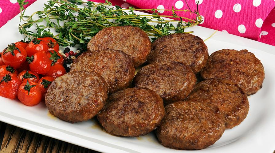 Ricetta hamburger di carne il giornale del cibo for Ricette di cibo