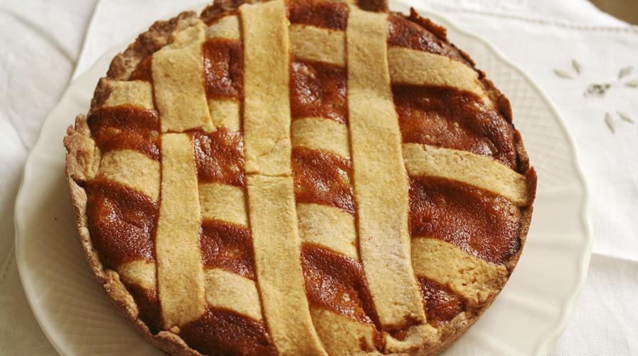 torta-di-ricotta-e-amaretti
