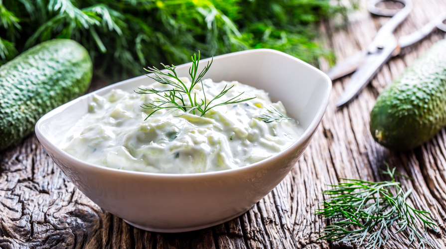 Insalata cetrioli yogurt