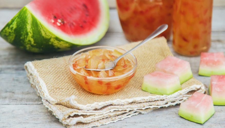 marmellata buccia anguria