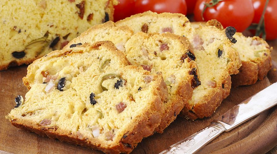 plumcake-alle-olive-e-prosciutto