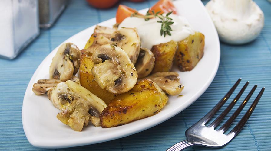 teglia-di-funghi-e-patate