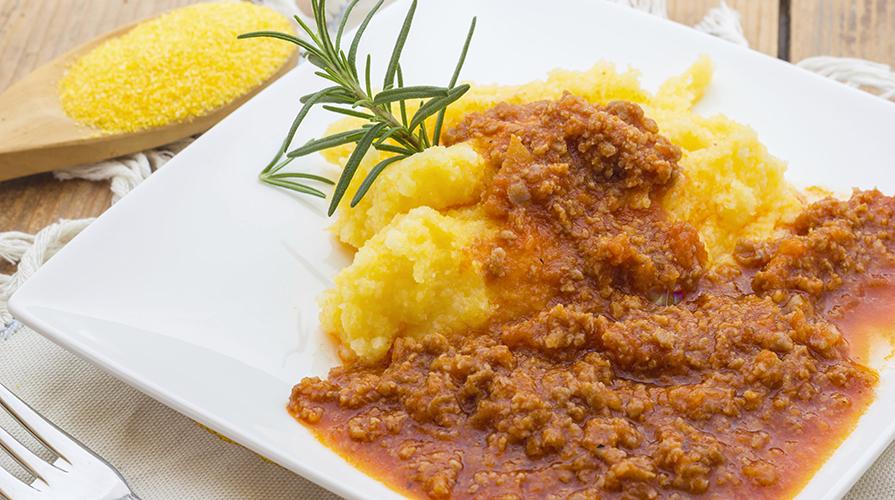 polenta-sarda