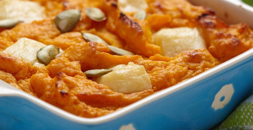 tortino patate e zucca