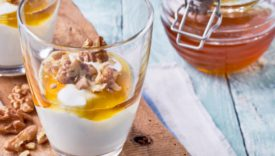 yogurt miele e noci