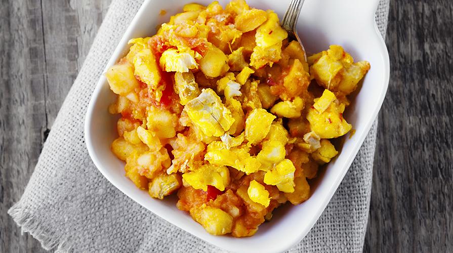 pasta patate e zucca