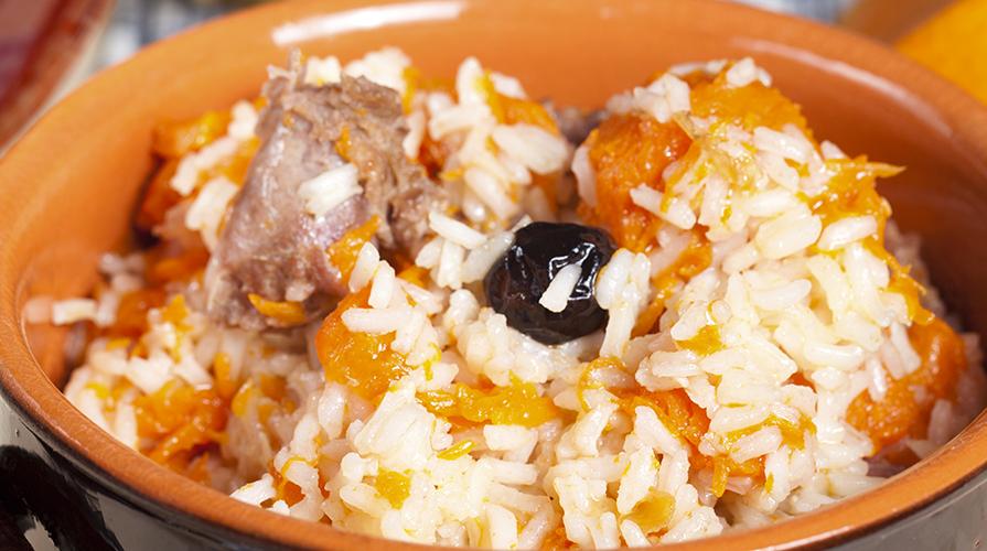 riso salsiccia e zucca