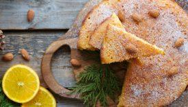 torta arance e farina di mandorle
