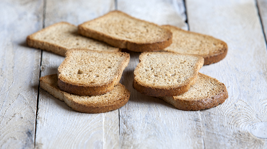 pane per tost per celiaci