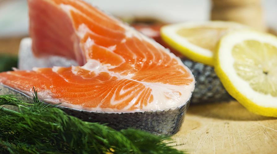 Bavarese di nasello e salmone
