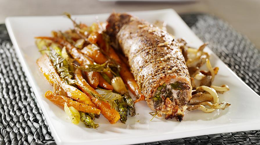 fagottini-di-lonza-magra-e-verdure-al-forno