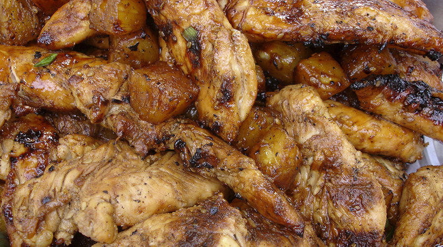 pollo-arrosto-all-ananasso