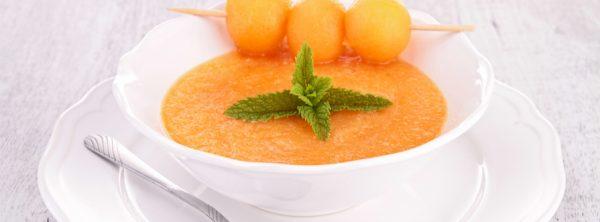 zuppa fredda melone