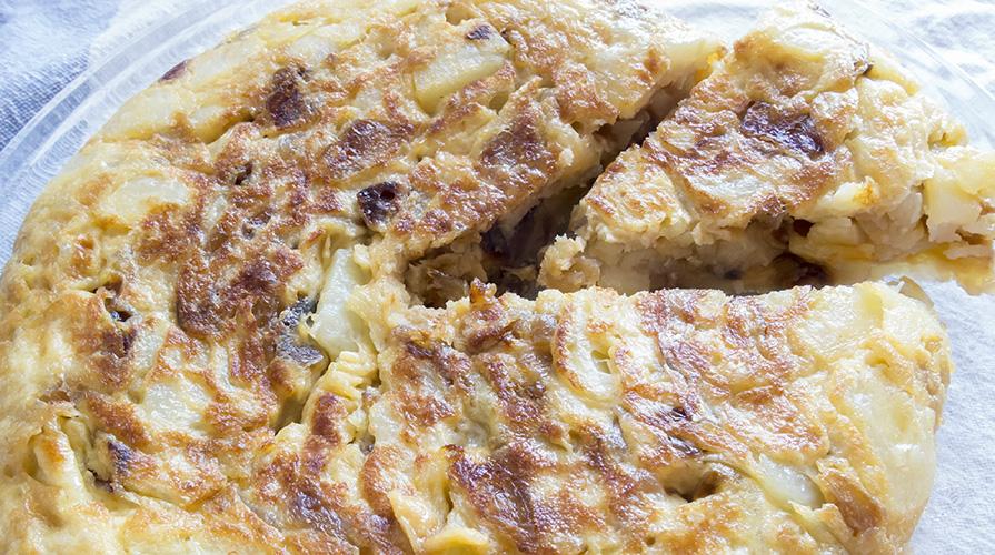 frittata-indivia-belga-radicchio-e-patate